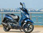 O max scooter Citycom 300i, primeiro produto da parceria estratégica entre a DAFRA Motos e a SYM