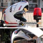 Testando um capacete ROVCAN –Minhasimpressões