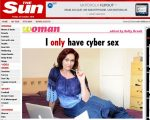 """Após traição, britânica afirma que sexo """"só online"""". #tecnologia"""