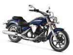 Yamaha: linha 2011 da XVS 950 Midnight Star vem na cor azul
