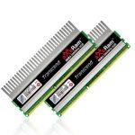Transcend lança o novo kit de memória aXeRam™ DDR3-2000 de 8GB composto por dois módulos de 4GB .