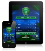 Aplicativo lançado pela Heineken é o mais baixado no iPad e no iPhone na categoria Sports