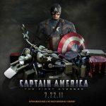Curta o making of da Harley Davidson do Capitão América!