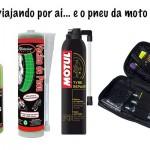 Como se prevenir e reparar pneu furado na moto
