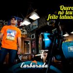 Santa Tatuagem fecha parceria com a marca Carburada!