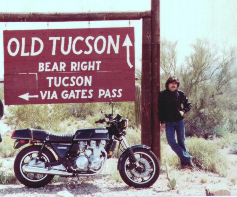 Fahad em Tucson EUA no começo da década de 80