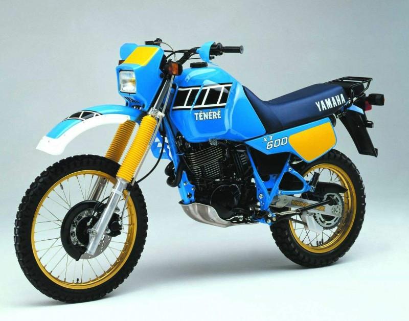 TX600 Ténéré 1986 - primeiro modelo