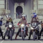 Apaixonadas por motos e aventura, grupo de cinco parisienses cruzará o Brasil sobre rodas