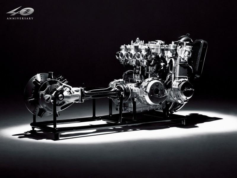 Motor Kawasaki Z 1300