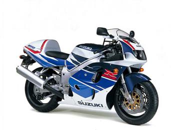 GSX-R 750 - 1996 - surge o sistema SRAD