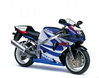 GSX-R 750 - 2000 - Traseira e frente mais finas_ design mais moderno