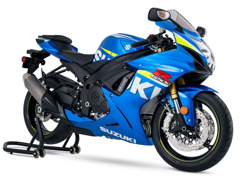 GSX-R 750 - 2015 - Pintura de corrida pra comemorer retorno da Suzuki oa MotoGP e 30 anos de GSX-R 750