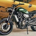 A Yamaha apresentou, na Europa, seu novo modelo vintage, a XSR700.