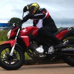 Teste Honda CB Twister