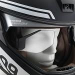 Tecnologia: Capacete head-up display e o laser light