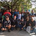 Raios do Asfalto MC e GDR MC recebem motoclubes visitantes do Piratas do Asfalto e Brokk MC