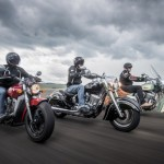 Test ride Indian Scout, Chief Classic e Chief Vintage