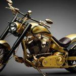 Você já pensou em ter uma moto de ouro?
