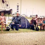 Aventura em duas rodas: uma moto e uma barraca no litoral de Alagoas