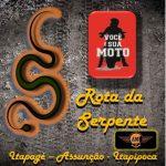 O Desafio da Rota da Serpente pelos Amigos Motociclistas