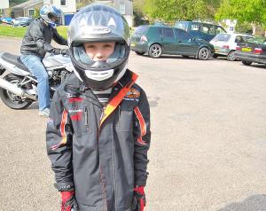 Menores na moto