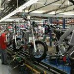 Produção de motocicletas caiu 31,8% em outubro