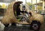 Carro feito de bambu é atração da Semana Nacional de Ciência e Tecnologia