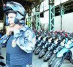 PM do RJ ganha novas motos dotadas de tecnologia bluetooth