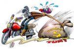 Projeto de Lei: Comissão aprova cabine separada para pedágio de moto