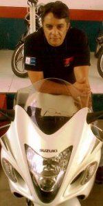 Motociclista, cuidado com a hipoglicemia.
