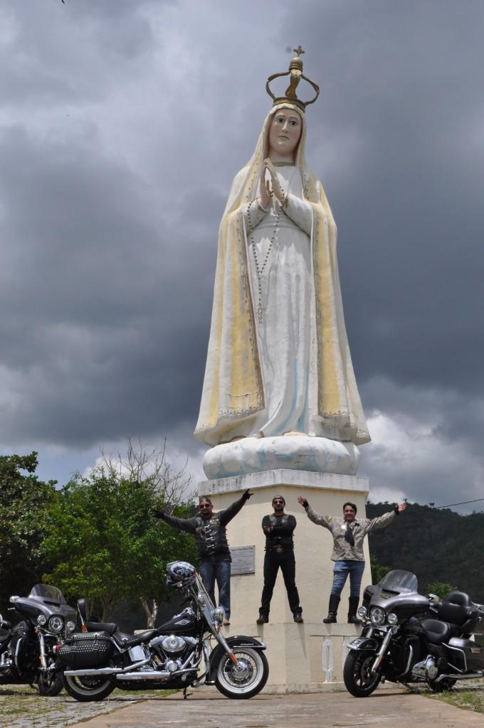 Uma das maiores imagens do mundo dedicadas à Nossa Senhora de Fátima