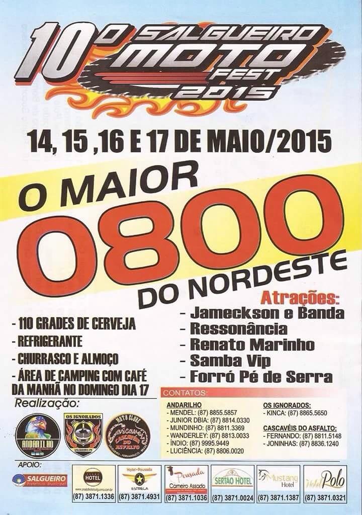SALGUEIRO MOTO FEST 2015