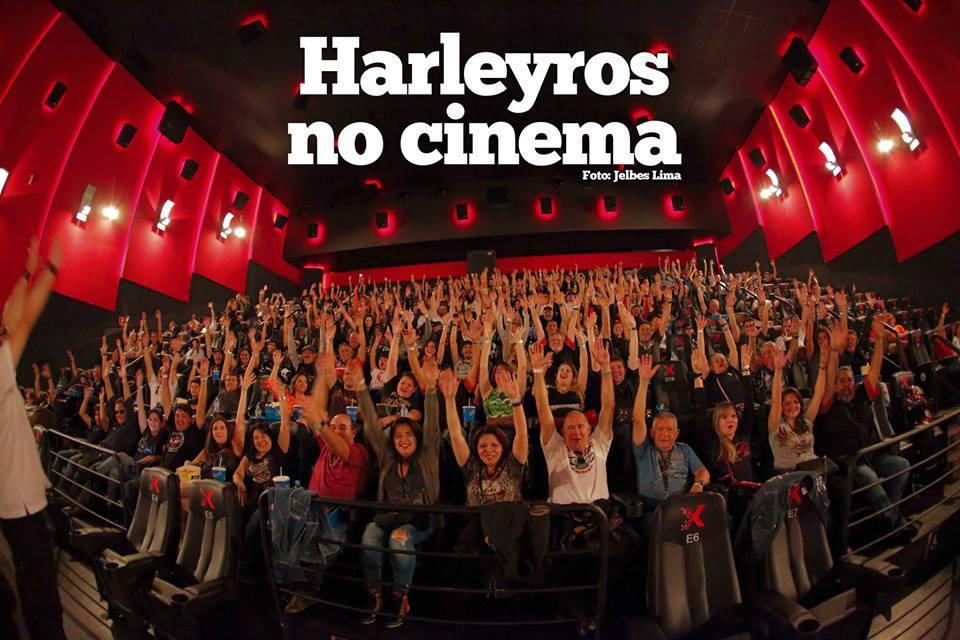 Promoção leva harleyros ao cinema