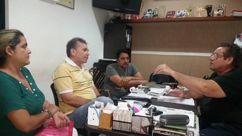 Organização do Iguatu Moto Week reúne-se com o prefeito Aderilo Alcântara de Iguatu