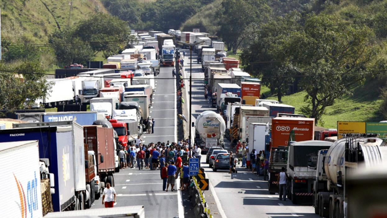 greve-caminhoneiros