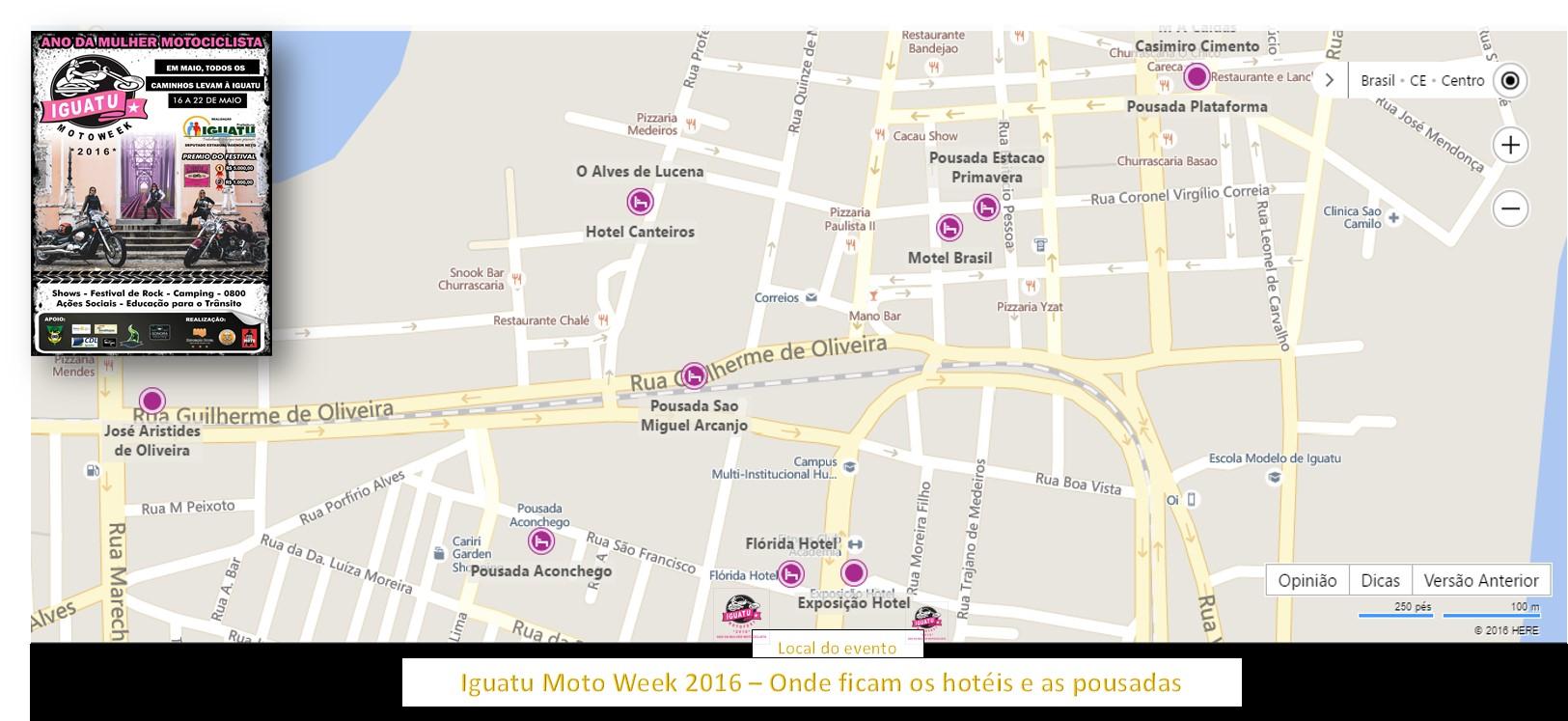IGUATU MOTO WEEK 2016 – Confira a lista de hotéis e pousadas