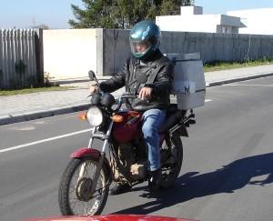 Uso do capacete