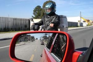 Carga em moto
